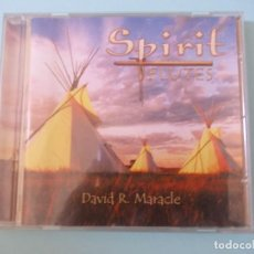 "CDs de Música: CD "" SPIRIT FLEUTES "" DAVID R. MIRACLE 2004. Lote 291836038"