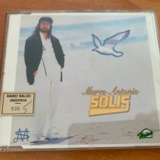 CDs de Música: MARCO ANTONIO SOLIS (QUE PENA ME DAS) CD SINGLE PROMO 1 TRACK (CDIM1). Lote 291945163