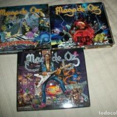 CD de Música: LOTE 3 CD MAGO DE OZ (FOLKTERGEIST/MADRID LAS VENTAS/GAIA II). Lote 292004543