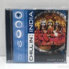 CDs de Música: CHILL IN: INDIA. Lote 292097628