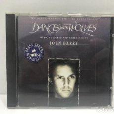 CDs de Música: BSO BAILANDO CON LOBOS. Lote 292098508