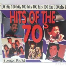 CDs de Música: PACK 4 CD´S - 100 HITS OF THE ´70S. Lote 292099008
