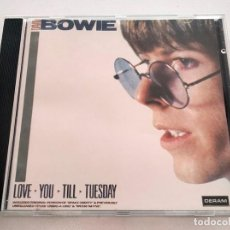 CDs de Música: CD DE DAVID BOWIE. LOVE YOU TILL TUESDAY. 1984.. Lote 292102998
