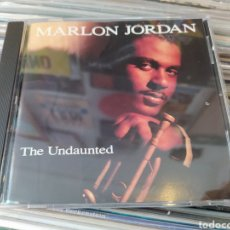 CDs de Música: MARLON JORDAN–THE UNDAUNTED . CD EDICION USA 1993. BUEN ESTADO. Lote 292154193