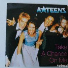 CD de Música: A TEENS.TAKE A CHANCE ON ME (CD-SINGLE). Lote 292203203