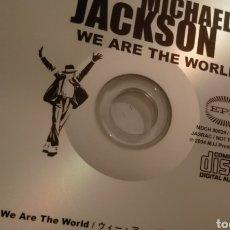 CDs de Música: MICHAEL JACKSON RARE WE ARE THE WORLD 2006 JAPAN PROMO SILVER CD. Lote 292327753