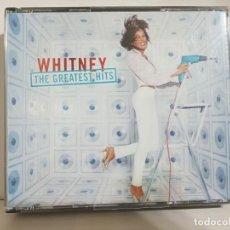 CDs de Música: ESTUCHE CON 2 CD,S DE WHITNEY HOUSTON. Lote 292332323