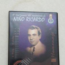CDs de Música: 1 CENTENARIO DEL NACIMIENTO DE NIÑO RICARDO ( 2 CD ). Lote 292342603