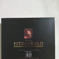 CDs de Música: ESTUCHE CON 2 CD,S DE ELLA FITZGERALD. Lote 292389973
