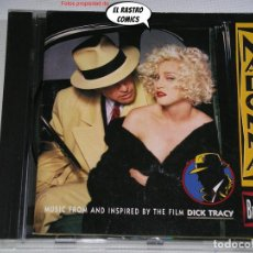 CDs de Música: MADONNA, I'M BREATHLESS (MUSIC FROM AND INSPIRED BY THE FILM DICK TRACY), CD SIRE, 1990, BSO, B S O. Lote 292537978