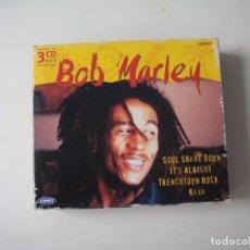 CDs de Música: BOB MARLEY 3 CD CON SUS ESTILOS DE MUSICA. Lote 292560593
