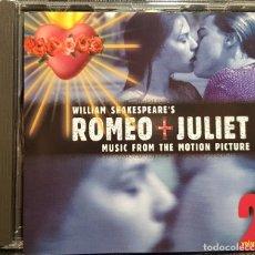 CDs de Música: ROMEO + JULIET VOLUME 2 - BSO - CD - CLAIRE DANES - LEONARDO DICAPRIO - JULIETA - NO USO CORREOS. Lote 292619578