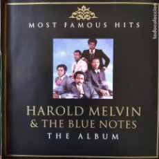 CDs de Música: HAROLD MELVIN & THE BLUE NOTES. THE ALBUM. MOST FAMOUS HITS CD2.. Lote 293180018