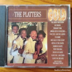 CDs de Música: THE PLATTERS - CD GOLD.. Lote 293180298