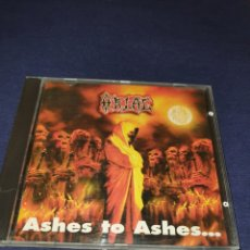 CD de Música: ORLAC ASHES TO ASHES. Lote 293198953