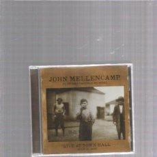 CDs de Música: JOHN COUGAR LIVE TOWN HALL. Lote 293268383