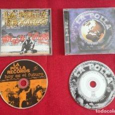 """CDs de Música: 2 CDS LA POLLA RECORDS """"HOY ES EL FUTURO"""" Y """"TODA LA PUTA VIDA IGUAL"""" AÑO 1994 – 1999. Lote 293305963"""
