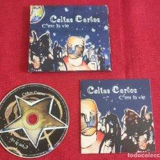 """CDs de Música: CD CELTAS CORTOS """"C EST LA VIE"""" AÑO 2003. Lote 293306883"""