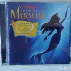 CDs de Música: THE LITTLE MERMAID - WALT DISNEY (BANDA SONORA ORIGINAL) RE-EDICION 1998. Lote 293423573