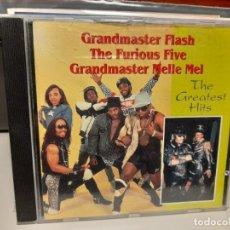 CDs de Música: CD GRANDMASTER FLASH - THE FURIOUS FIVE GRANDMASTER MELLE MEL : THE GREATEST HITS. Lote 293480218