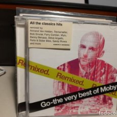 CDs de Música: CD MOBY : GO - THE VERY BEST OF MOBY ( REMIXED ). Lote 293483543