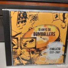 CDs de Música: CD 10 ANYS DE BOMBOLLERS DE CERVERA ( EVOLUCIÓ 1997-2007 ) 14 TOCS I PERCUSIONS. Lote 293484333