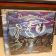 CDs de Música: CD DRAGONSLAYER ( GRUPO HEAVY METAL ESPAÑOL ) : NOCHES DE TORMENTA. Lote 293484693