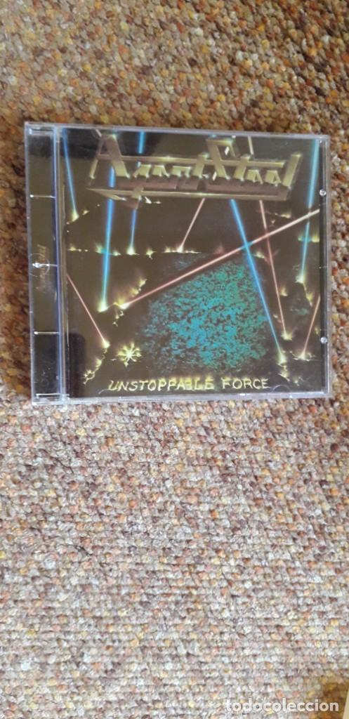 AGENT STEEL , UNSTOPPABLE FORCE , CD 1999 GERMANY, ESTADO IMPECABLE, TRASH SPEED METAL (Música - CD's Heavy Metal)