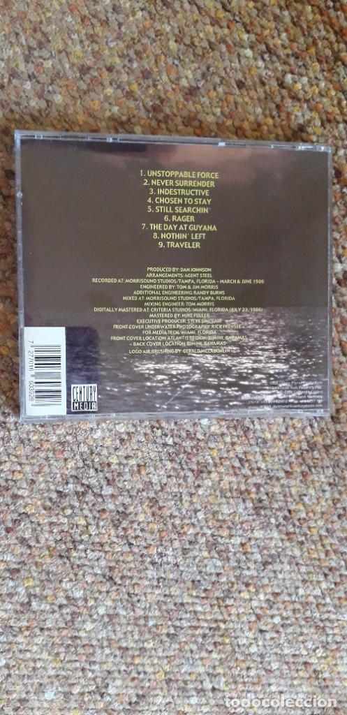 CDs de Música: Agent Steel , Unstoppable Force , CD 1999 Germany, estado impecable, Trash Speed Metal - Foto 2 - 293544138