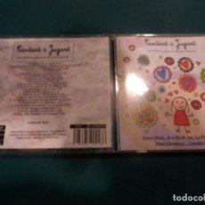 CD di Musica: CANTANT I JUGANT (XESCO BOIX-ARA VA DE BO-LA PATAQUETA-TONI GIMÉNEZ...) CD 20 TEMAS - PICAP 2009. Lote 293573233