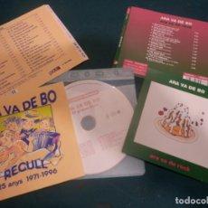 CDs de Música: ARA VA DE BO - SOLO CD EL GRIPAU BLAU + SOLO LAS CARATULAS ARA VA DE ROCK + RECULL 25 ANYS. Lote 293574078