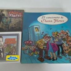CDs de Música: CHAVA FLORES CDS A ESTRENAR + LIBRO (MÉXICO), VER FOTOS.4,36 ENVÍO CERTIFICADO.. Lote 293638328