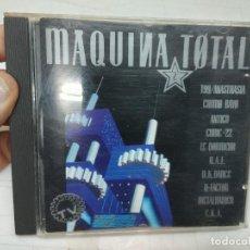 CDs de Música: MAQUINA TOTAL 2 MAX MUSIC 1991 - ELECTRONICA - TECHNO HOUSE - MAKINA CD BUEN ESTADO BUSCADO. Lote 293667058