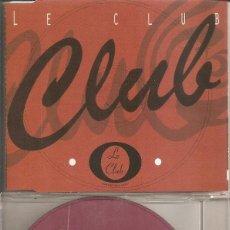 CDs de Música: LE CLUB 2001 - VARIOS (VER FOTO ADJUNTA) (CDSINGLE CAJA PROMO, VALE MUSIC). Lote 293713513
