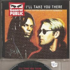 CDs de Música: GENERAL PUBLIC - I'LL TAKE YOU THERE (FIVE VERSIONS) / SAVE IT FOR (CDSINGLE CAJA, SONY MUSIC 1994). Lote 293715718