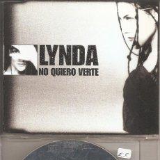 CDs de Música: LYNDA - NO QUIERO VERTE (CDSINGLE CAJA PROMO, EMI MUSIC 1999). Lote 293715798
