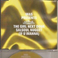 CDs de Música: THE GIRL NEXT DOOR - SALSOUL NUGGET (FOUR VERSIONS) (CDSINGLE CAJA, SIGMA MUSIC 2001). Lote 293716033