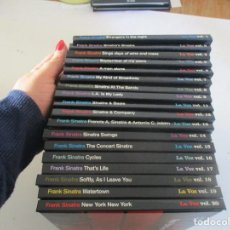 CDs de Música: FRANK SINATRA COLECCIÓN EL PAIS 18 CD+ LIBRILLOS W10062. Lote 293749118