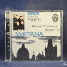 "CD de Música: SMETANA, LE QUATUOR TALICH - QUATUOR N°1 ""DE MA VIE"" / QUATUOR N°2 - CD. Lote 293792048"
