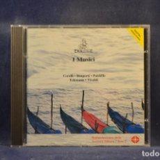 CDs de Música: CORELLI, BONPORTI, PAISIELLO, TELEMANN, VIVALDI - I MUSICI - CD. Lote 293793668