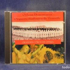 CDs de Música: ORFEÓN DONOSTIARRA, ORQUESTA SINFÓNICA DE TENERIFE, VÍCTOR PABLO PÉREZ - GRANDES COROS DE ÓPERA - CD. Lote 293795108