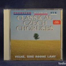 CD de Música: FOERSTER, DVOŘÁK, SUK: VELKÉ, SIRÉ RODNÉ LÁNY - CLASSICAL CZECH CHORUSES - CD. Lote 293799123