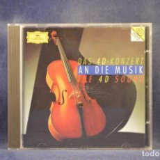 CDs de Música: VARIOUS - AN DIE MUSIK (DAS 4D-KONZERT, THE 4D SOUND) - CD. Lote 293799353