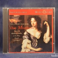 CD de Música: VARIOUS, THE CONSORT OF MUSICKE - THE MISTRESS POEMS BY COWLEY, SET BY BLOW, PURCELL AND OTHERS - CD. Lote 293802288
