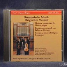 CD de Música: JOZEF SLUYS, JOHAN SLUYS, ERIK SLUYS, HUYBRECHTS - ROMANTISCHE MUSIK / BELGISCHER MEISTER - CD. Lote 293806123