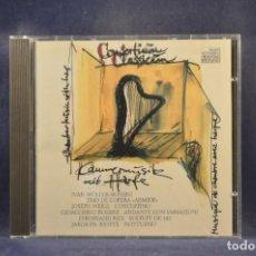 CD de Música: CONSORTIUM CLASSICUM: GIOACCH., MÜLLER - CHAMBER MUSIC WITH HARP, MUSIQUE DE CHAMBRE AVEC HARPE - CD. Lote 293816138