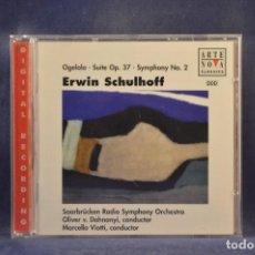 CD de Música: ERWIN SCHULHOFF - OGELALA, SUITE OP. 37, SYMPHONY NO. 2 - CD. Lote 293816418