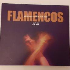 CDs de Música: DOBLE CD, FLAMENCOS 2003. Lote 293823693