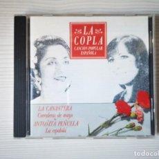 CDs de Música: LA CANASTERA Y ANTOÑITA PEÑUELA. Lote 293826703