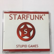 CDs de Música: CD SINGLE STARFUNK , STUPID GAMES (ESPAÑA, 2002). Lote 293830513